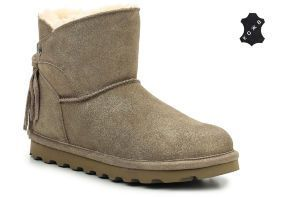 Женские угги Bearpaw Natalia 2013W-Pewter Distressed серебристые